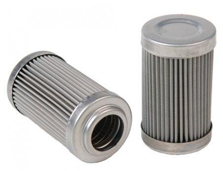 Nierdzewny wkład filtra paliwa Aeromotive ORB-10 - GRUBYGARAGE - Sklep Tuningowy
